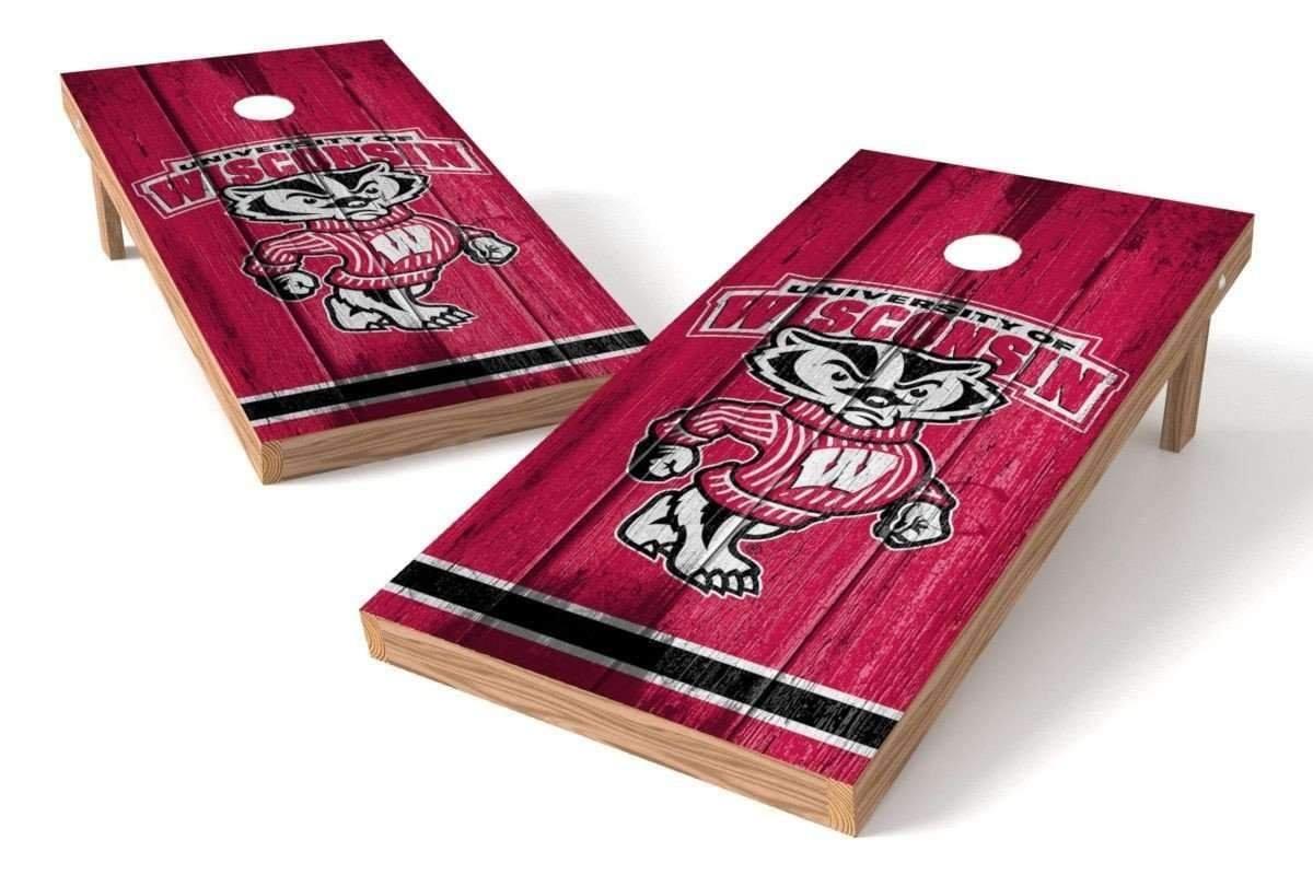 【税込?送料無料】 PROLINE NCAA カレッジ 2 2 – x 4 インチ Badgers 穴あきボードセット – ヴィンテージデザイン B01HU2TXQW Wisconsin Badgers, 楽譜 スコアオンライン:9a453e53 --- arianechie.dominiotemporario.com