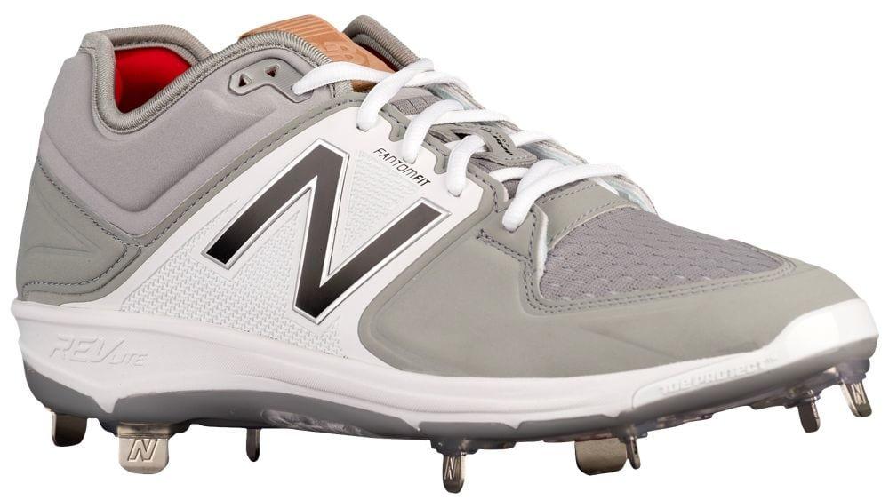 [ニューバランス] New Balance 3000V3 Metal Low メンズ ベースボール [並行輸入品] B072J4165H US15.0|グレー/ブラック グレー/ブラック US15.0