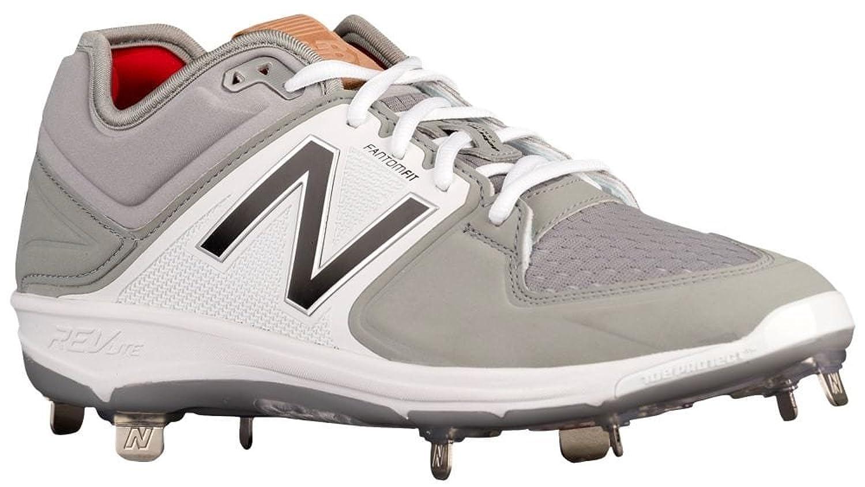 [ニューバランス] New Balance 3000V3 Metal Low メンズ ベースボール Grey/Black US08.0 [並行輸入品] B07235YBGL