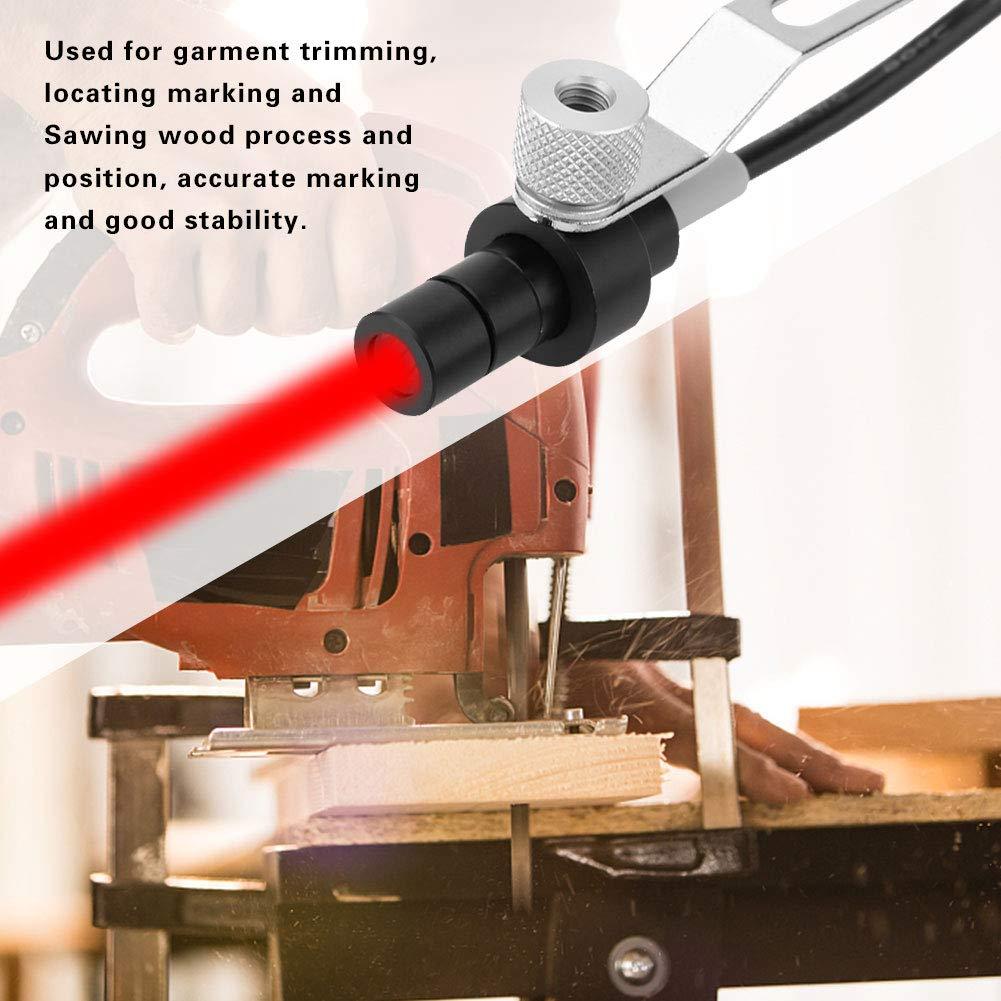 650nm 5mW Red Line Laser Diode Module with Bracket for Industrial Sewing Machine 110-250V UK plug UK plug