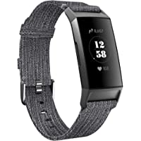 KIMILAR Armbanden compatibel met Fitbit Charge 4/Charge 3 armband stof, snelspanner, nylon reserveband voor Charge 4/3…