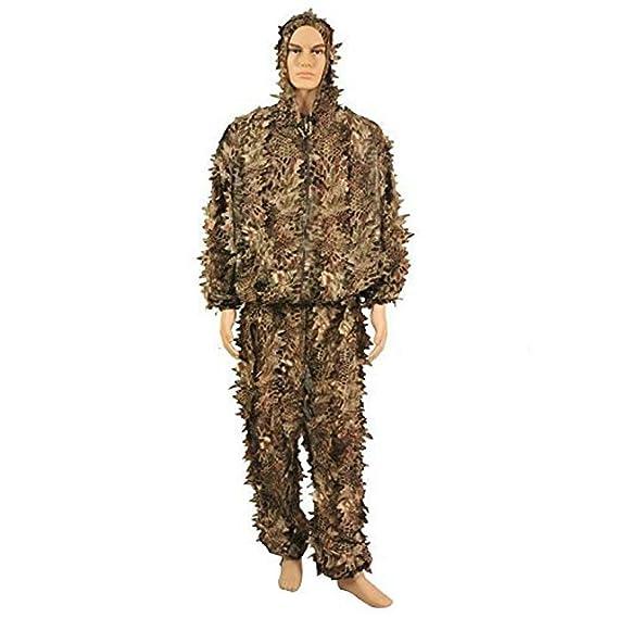 Traje de camuflaje con capucha; ropa para cazar, para ...