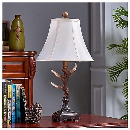 NIUZIMU G-ZM Personalidad Simple lámpara de Mesa Dormitorio ...
