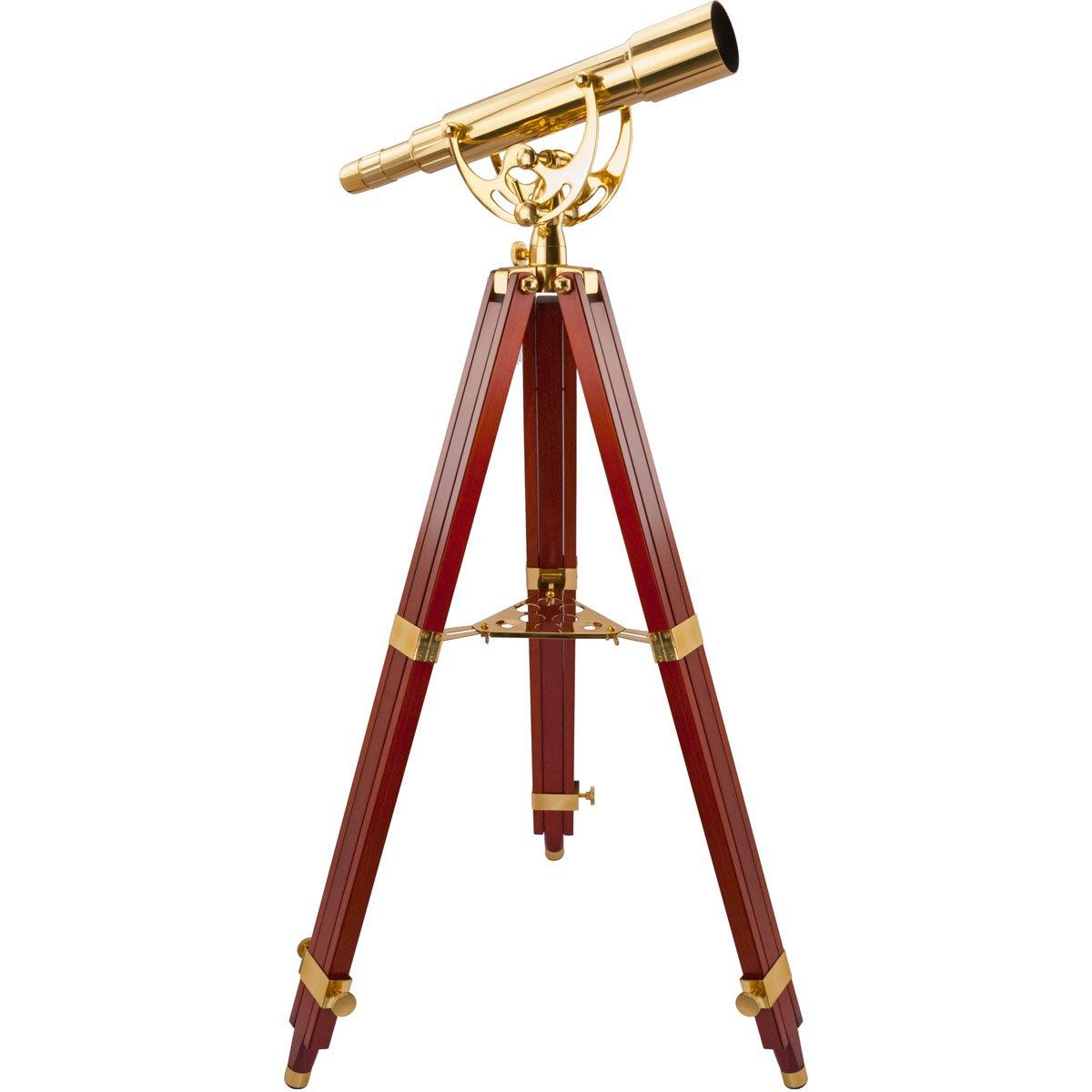 BARSKA Anchormaster 15-45x50 Spyscope w/ Mahogany Floor Tripod by BARSKA