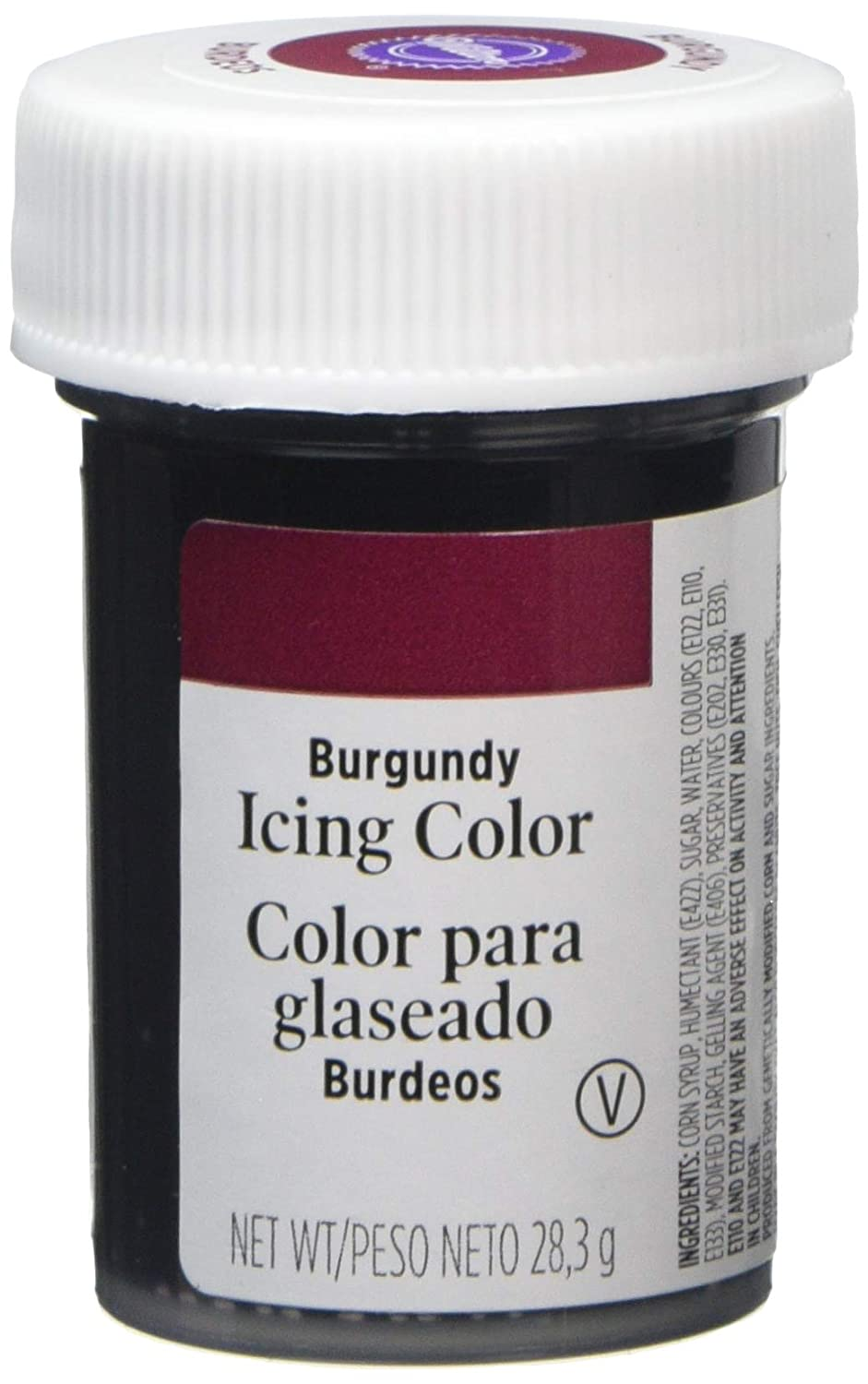 Wilton Icing Colors, 1-Ounce, Burgundy