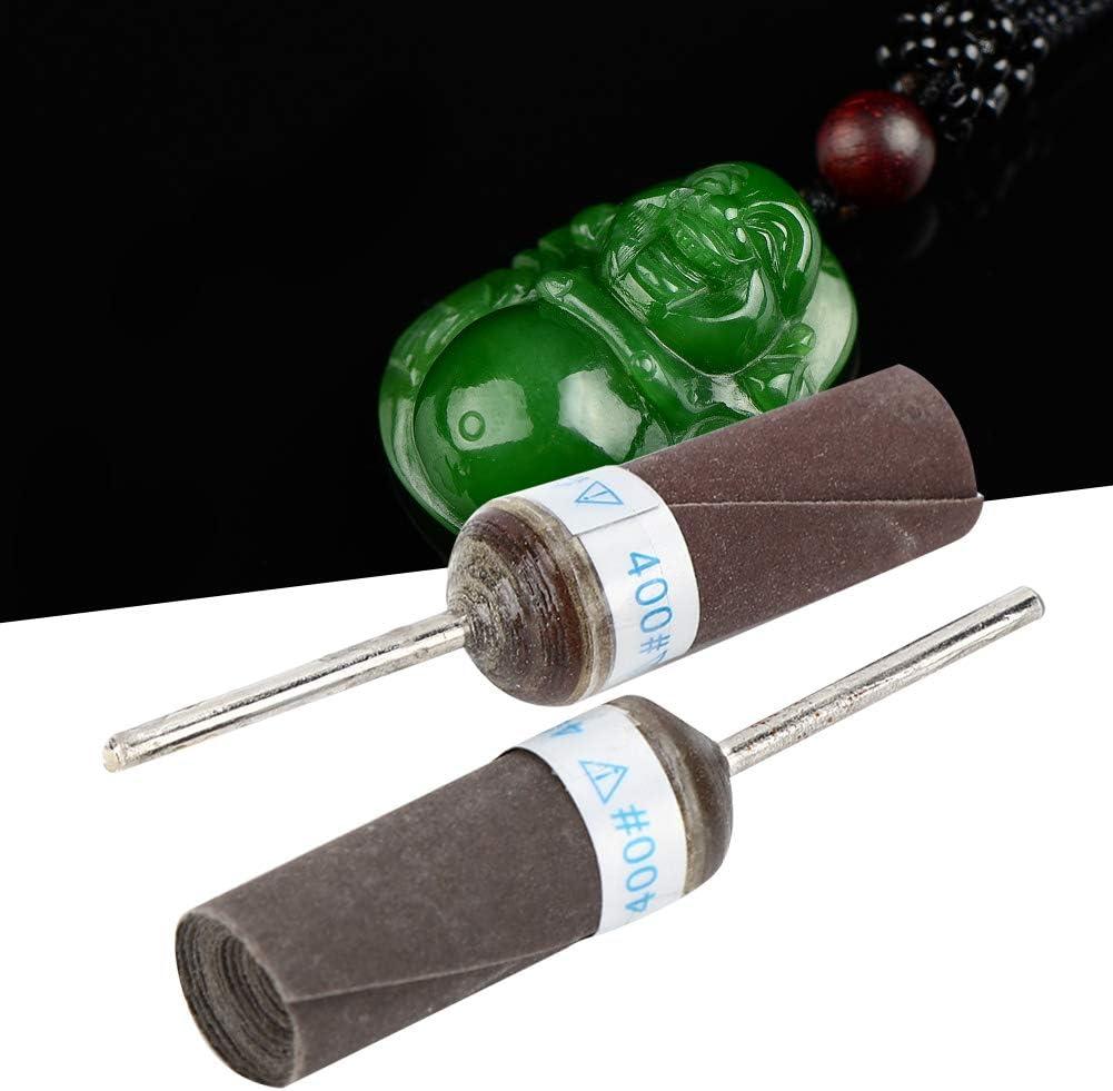Sandpaper Polishing Head Jewelry Tools for Jeweler Shop Jewelry Repairer 400# 10pcs Grinding Wheels Head