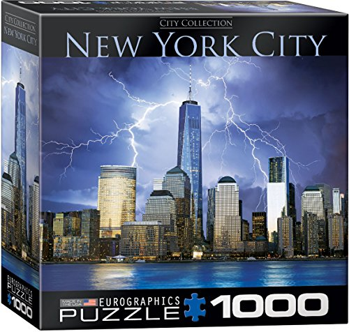 EuroGraphics New York World Trade Center Small Box Puzzle (1000 Pieces) (Puzzle New York Electronic)