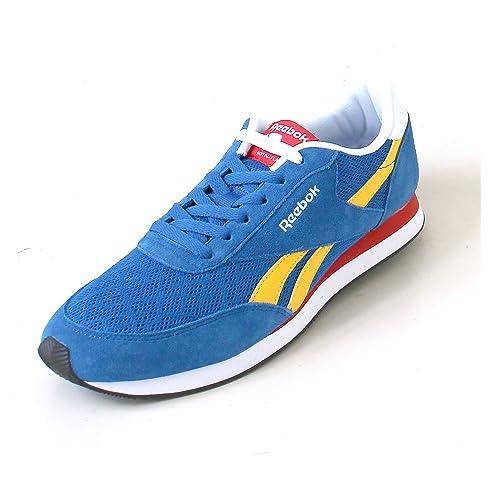 Reebok BD3687, Zapatillas de Trail Running para Hombre, Azul (Awesome Blue/Retro Yellow/Primal Red/Wht), 48.5 EU: Amazon.es: Zapatos y complementos