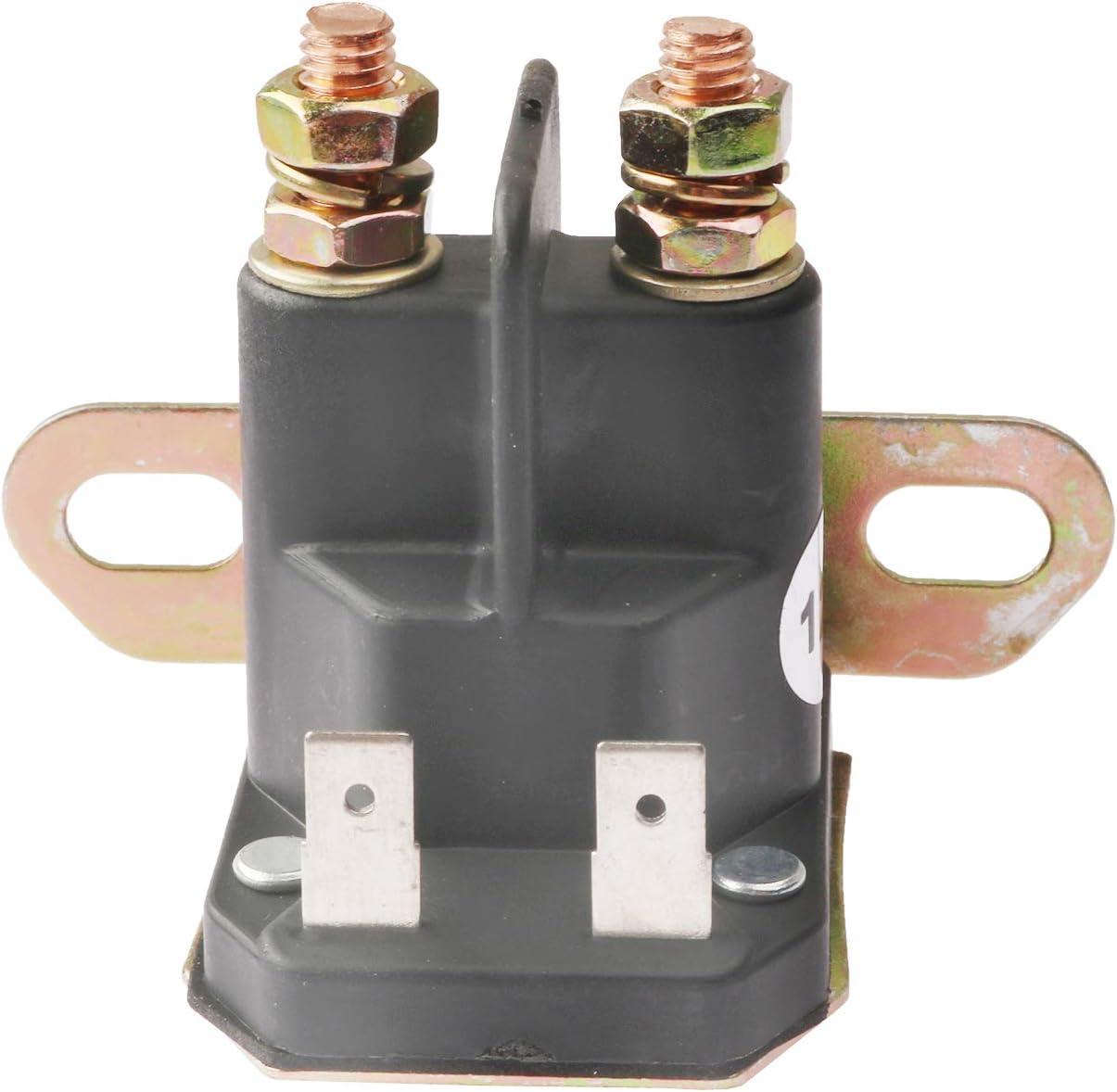 YIXIN 862-1211-211-16 Solenoid Relay 12V for Trombetta John Deere AM138068 725-04439 LA100 LA105 LA110 LA115 LA120 LA125