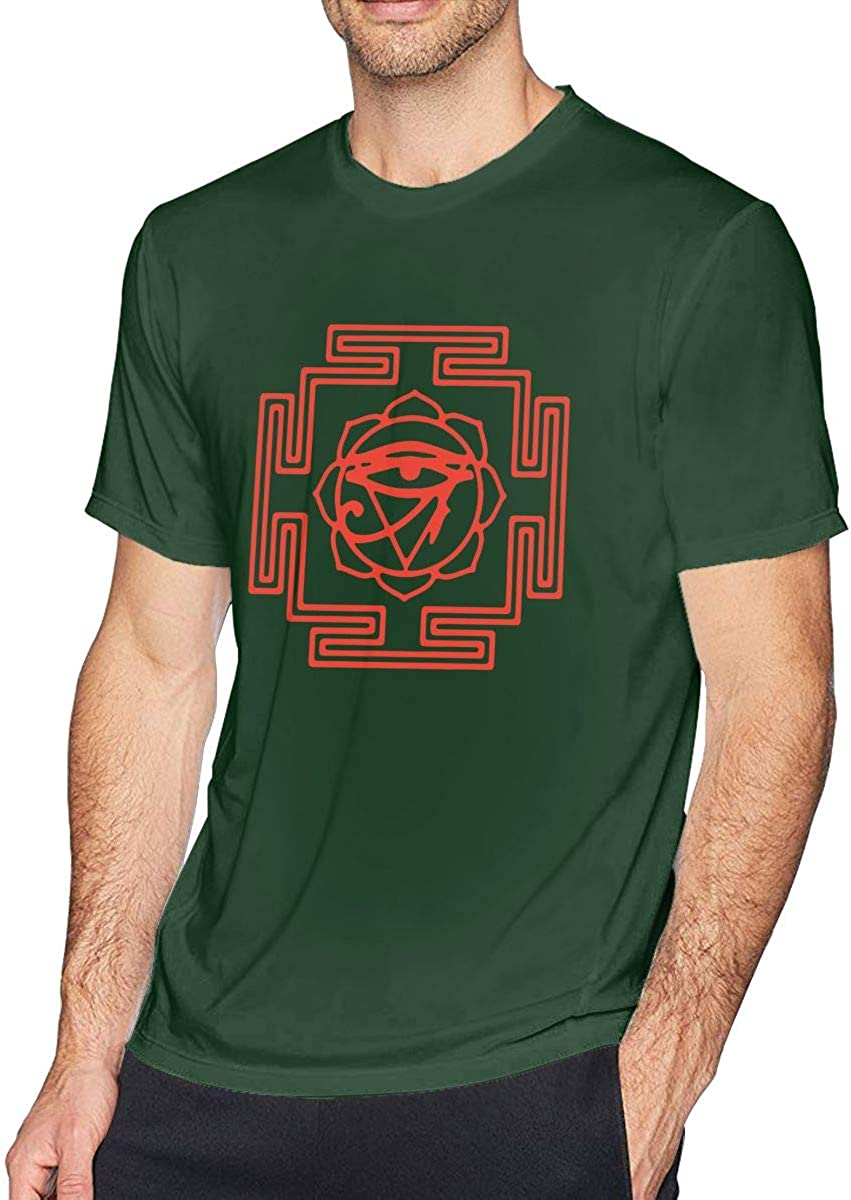 FankTasf The Brian Jonestown Massacre Summer Men's Classic Fashion T-Shirt with Round Neck and Short Sleeve