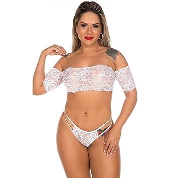 f3db781ce Conjunto Sensual Gabriela Branco Pimenta Sexy  Amazon.com.br  hpc