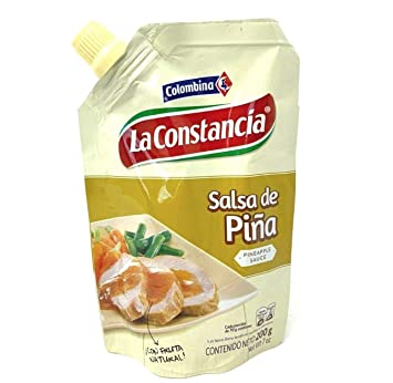 Amazon.com : Colombian Pineapple Sweet Sauce Salsa De Piña ...
