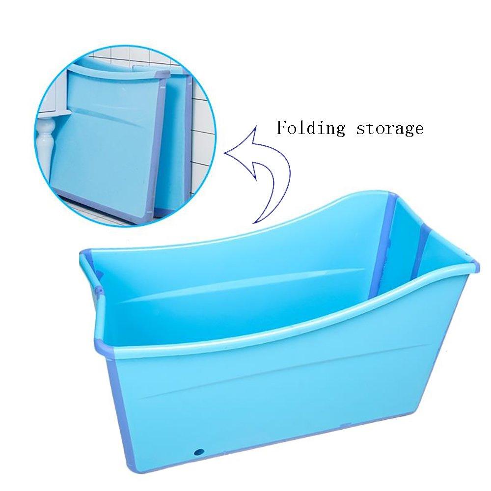 Amazon.com: TOYM US Plastic Folding Bucket Adult Children\'S Bathtub ...