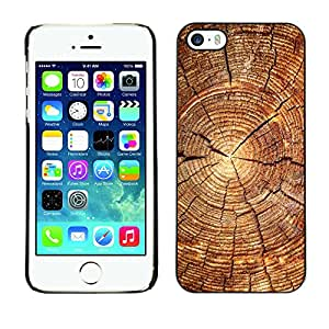 Stuss Case / Funda Carcasa protectora - Bloque de madera del patrón - iPhone 5 / 5S