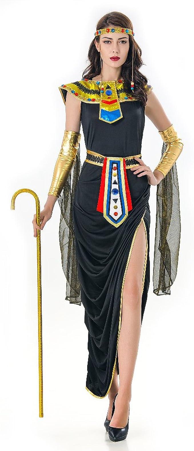 Amazon.com: Disfraz de princesa egipcia para niña con diosa ...