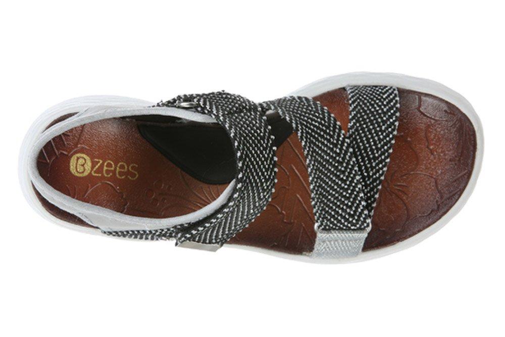 BZees Women's Jive Sport Sandal B07212WVKK 9 M US Grey