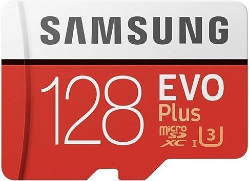 carte sd 128 go samsung Amazon.com: Samsung 128GB EVO Plus Class 10 Micro SDXC with