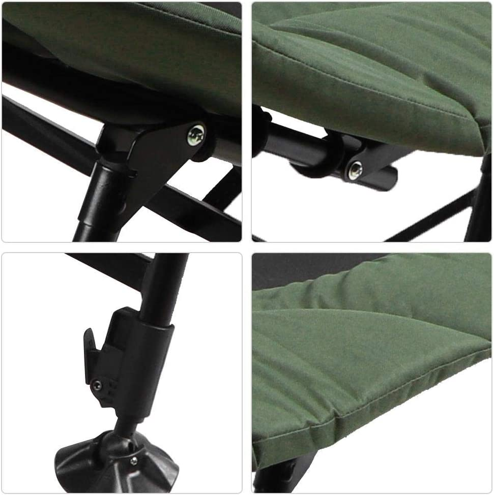 silla de acampada ajustable plegable cama doble plegable silla de pesca Tumbona de camping Greensen tumbona de ocio cama plegable silla de pesca