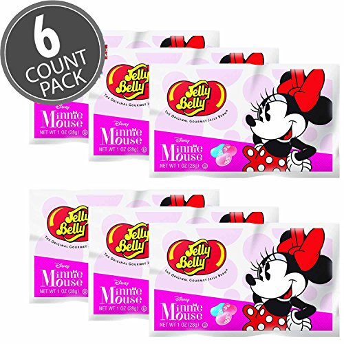 Jelly Belly Minnie Mouse Edition Jelly Beans 1 oz Bags
