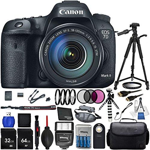 Canon La cámara EOS 7D Mark II con 18-135mm f/3.5-5.6 STM Lente ...