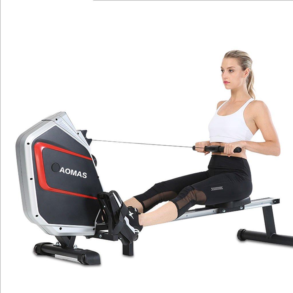 Big seller Rudergeräte Rudernmaschine Hauptmagnetregelung Stumm Rudermaschine Falten Bauch Fitnessgeräte