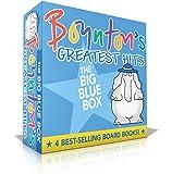 Boynton's Greatest Hits The Big Blue Box: Moo, Baa, La La La!; A to Z; Doggies; Blue Hat, Green Hat (Boynton Board Books…