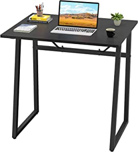 Homfio Computer Desk, 23.6'' Modern Simple Study Desk Student Desk PC Laptop Notebook Writing Table for Home Office Workstation Small Reading Desk for Space Saving