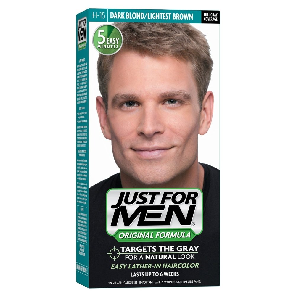 JUST FOR MEN Hair Color H-15 Dark Blond 1 Each (Pack of 2) COMBE