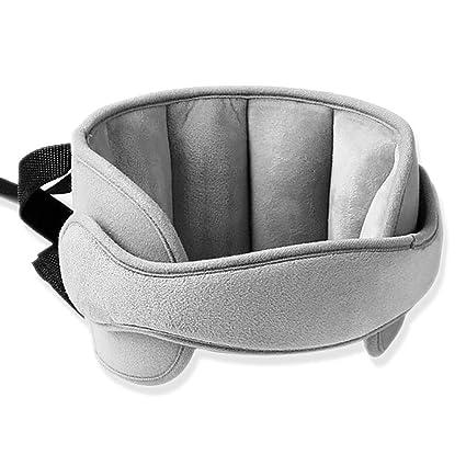 Zoneyan Kopfgurt Kindersitz Einstellbar Kopfstützband Autositz Nackenstütze Kinder Kindersitz Kopfstütze Kopfhalterung Kindersitz Baby Kopfschutz Schlafen Baby