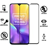 SuperdealsForTheinfinity Original Premium Full Glue 6D Full Edge-to-Edge Screen Protection Tempered Glass for REALME U1 - Black (Realme u1)