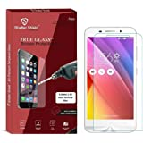 """Shatter Shield Tempered Glass For Asus Zenfone Max (5.5"""" Inch Display) (2.5D Curved Round Edges)"""