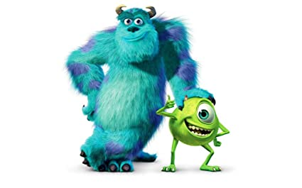055 Monsters Inc 38x24 Inch Silk Poster Aka Wallpaper Wall Decor By