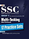 SSC Multi Tasking Group 'C' 17 Practice Sets Non-Technical 2017