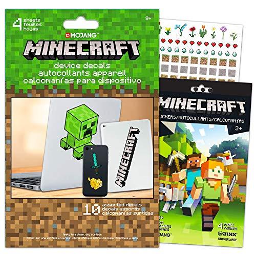 Minecraft Laptop Stickers Ultimate Set