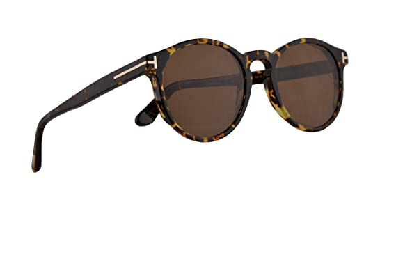 33fab93f95fc04 Image Unavailable. Image not available for. Color  Tom Ford FT0591 Ian-02  Sunglasses Dark Havana ...