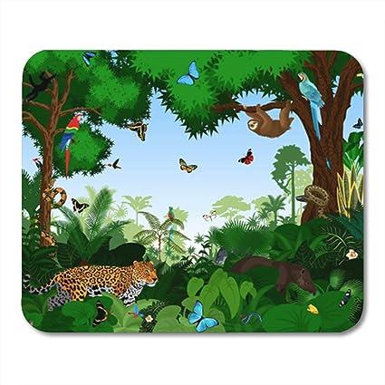 bf227a7c515c1 Amazon.com : Semtomn Mouse Pad Rubber Mini 9.5