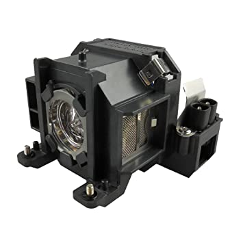 Supermait EP38 Lámpara de repuesto para proyector con carcasa ...