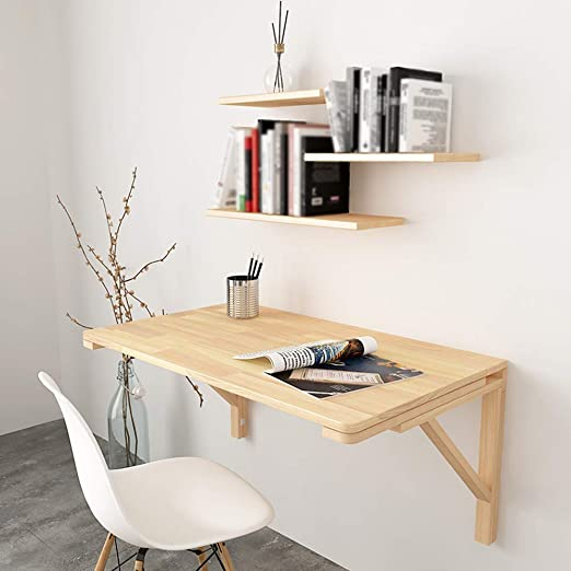Folding Table Mesa Plegable, Escritorio para Montar en la Pared ...