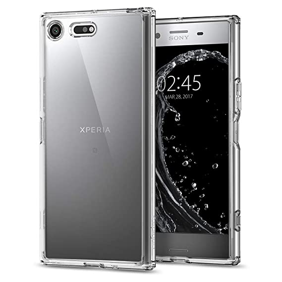 hot sale online b8404 a8f93 Spigen Ultra Hybrid Sony Xperia XZ Premium Case with Air Cushion Technology  and Hybrid Drop Protection for Sony Xperia XZ Premium (2017) - Crystal ...