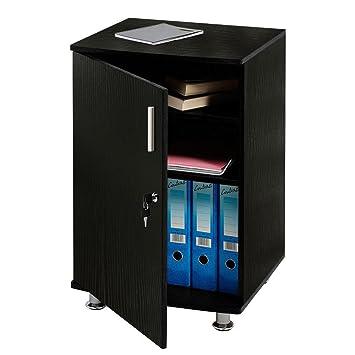 Buro Schreibtisch Verlangerung Schrank Abschliessbar Mobel Fachboden