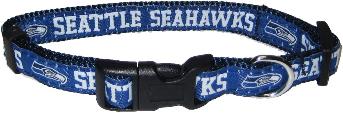 Small NFL Seattle Seahawks Team Pet Collar