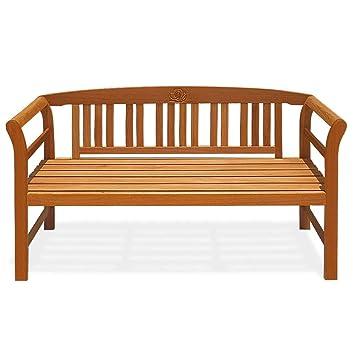 Phenomenal Deuba Garden Bench Rose Fsc Certified Eucalyptus Wood 2 Seater Wooden Garden Furniture Armrests Ibusinesslaw Wood Chair Design Ideas Ibusinesslaworg