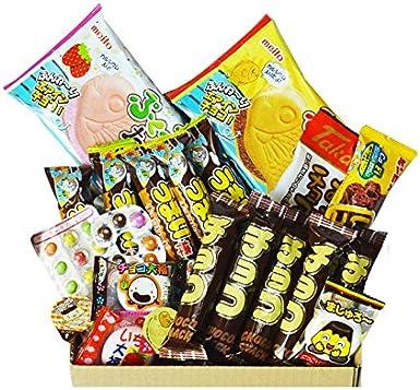 Chocolate Dagashi Caja 20pcs Umaibo Snack con AKIBA KING Etiqueta Caramelos japoneses: Amazon.es: Alimentación y bebidas