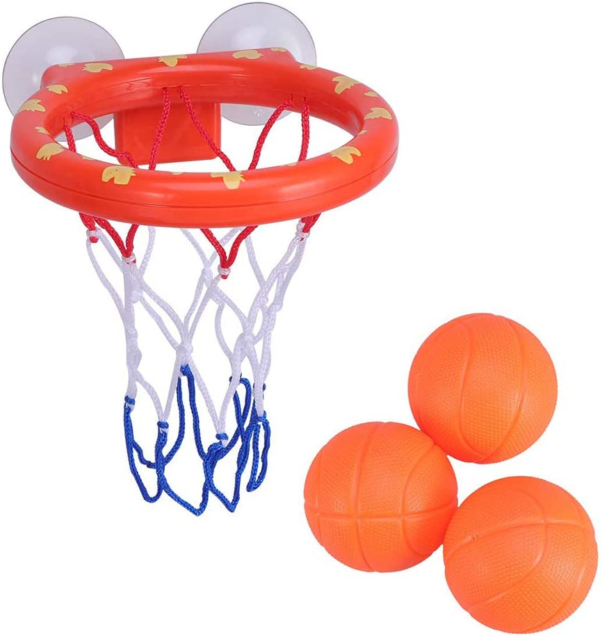 Amasawa Mini Baloncesto de Baño,Canasta Baloncesto Infantil Bañera ...