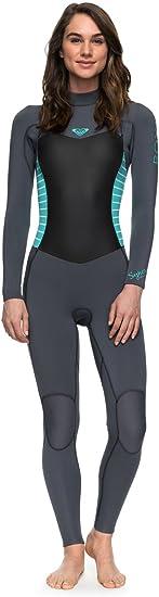 Amazon.com: Roxy Womens 3/2Mm Syncro Back Zip Wetsuit Erjw103024: Sports & Outdoors
