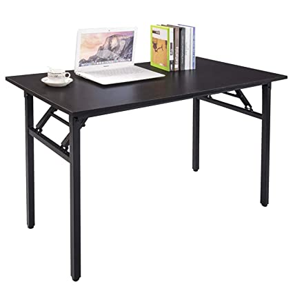 Charmant Amazon.com: Halter Folding Computer Desk   Foldable Writing U0026 Study Table  For Home U0026 Office Desk Use   Black: Kitchen U0026 Dining