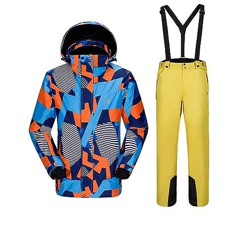 Peggy Gu Escudo de la Nieve Traje de esquí para Hombre Traje ...