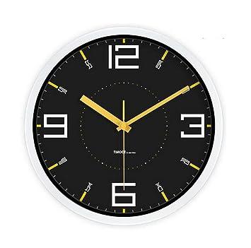 reloj de pared, reloj de pared Xiaolang, reloj de pared de silencio, reloj