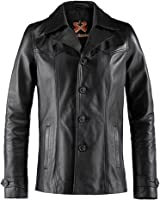 Heist Mens Leather Jacket