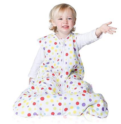 Snoozebag Saco de Dormir Spots para bebé, 100% algodón, Unisex, 2,